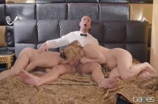Красивое порно видео с аппетитными блондинками №3511 5