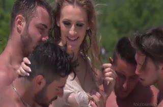 Красивое порно видео с аппетитными блондинками №3516