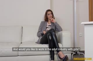 Пошлая парочка снимает свой секс прямо на телефон №2065