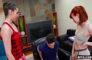 Красивый секс с рыжеволосой милашкой бесплатно №1182 3