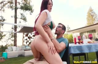 Красивый секс с рыжеволосой милашкой бесплатно №1428 5